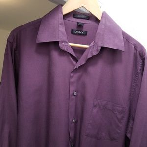 DKNY Men's Casual or Dress Button Up Shirt